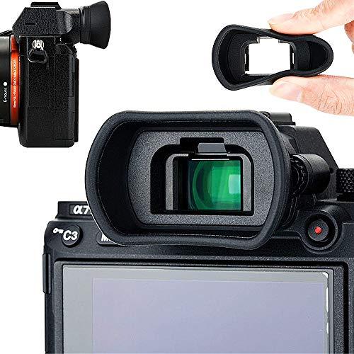 Soft Silicon Camera Viewfinder Eyecup Eyepiece Eyeshade for Sony A7RIV A7 A7II A7III A7R A7RII A7RIII A7S A7SII A9 A9II A58 A99II Eye Cup Protector Replaces Sony FDA-EP18 FDA-EP16 FDA-EP15 from Kiorafoto