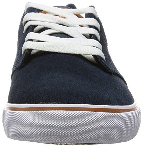 Fallen Men's Slash Skateboard Shoe Midnight Blue/Camel cheap limited edition i9ap3