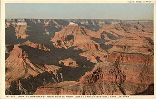 - Looking Northeast from Mojave Point Grand Canyon National Park, Arizona Original Vintage Postcard