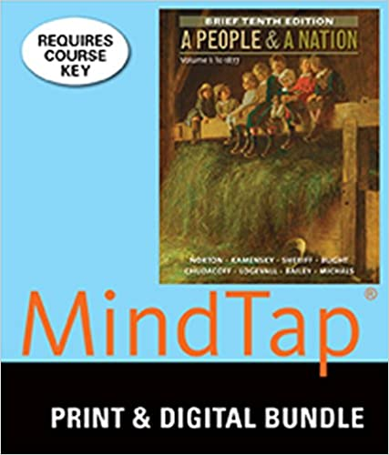 Amazon.com: Bundle: A People and a Nation, Volume I: To 1877 ...