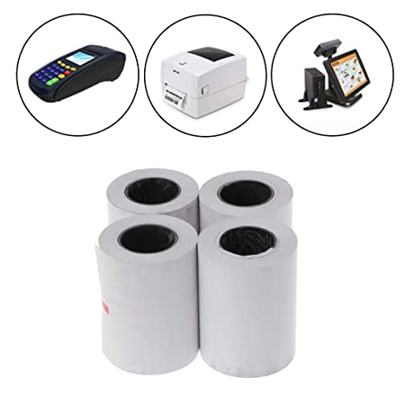 Kalttoy - 4 rollos de papel térmico de 57 x 50 mm para ...