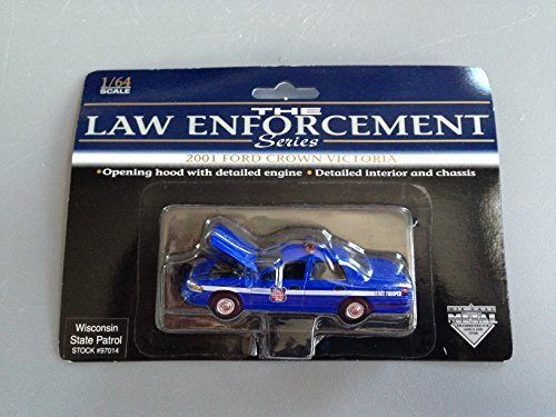SpecCast Law Enforcement Series - Wisconsin State Patrol 97014 - 2001 Ford Crown Victoria 1:64 (Ford Crown Victoria Specs)