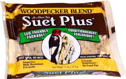 Wildlife Sciences Suet Plus Woodpecker Blend Feeder
