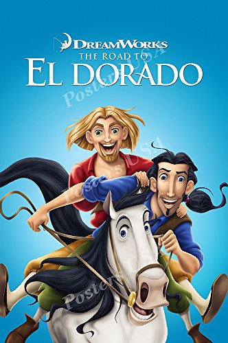 Posters USA DreamWorks The Road To El Dorado Movie Poster GLOSSY FINISH - FIL112 (24