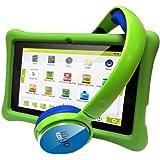 Ingo Devices - Tablet para niños con auriculares (INU075G)