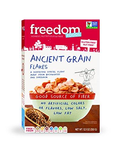 Description: Freedom Foods Ancient Grain Flakes Breakfast – Allergen Friendly - BULK CASE: 5 X 12.3oz ()