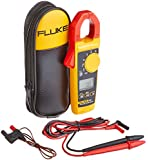 Fluke 325 40/400A AC/DC, 600V AC/DC TRMS Clamp Meter with Frequency, Temp, and Capacitance Measurements