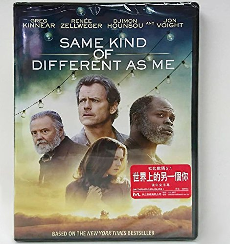 Same Kind Of Different As Me  Region 3 Dvd   Non Usa Region   Hong Kong Version   Non Usa Region