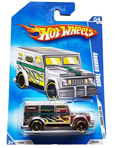 Hot Wheels 2009 HW City Works Chrome Armored Truck 1:64 Scale