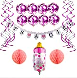 Baby Shower Decorations Girl Set Party - It 's a Girl...