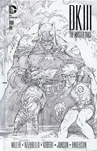 Dark Knight III Master Race #1 Collectors Edition Hardcover