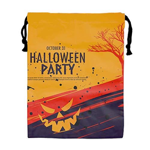 Mastexoru drawstring backpack Burlap Bags with Drawstring Halloween Celebration Pouches Sacks Bag for Wedding Favors, Party, DIY Craft ()