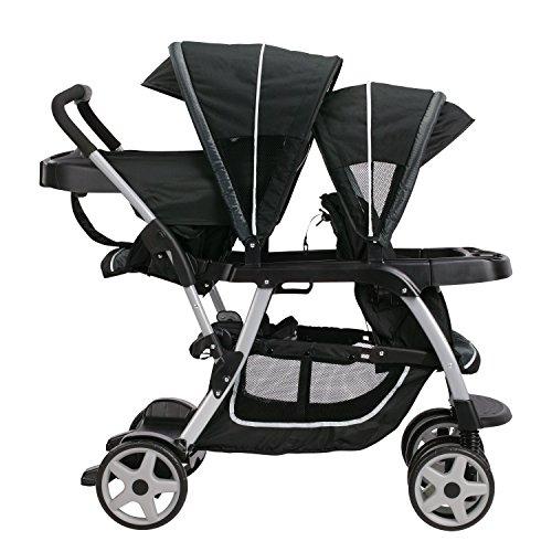 51EGzH7e%2BuL - Graco Ready2Grow LX Double Stroller | Lightweight Double Stroller, Gotham