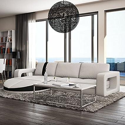 Muebles Bonitos - Sofa de diseño moderno Rosa blanco con ...