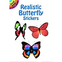 Realistic Butterfly Stickers (Dover Little Activity Books Stickers)