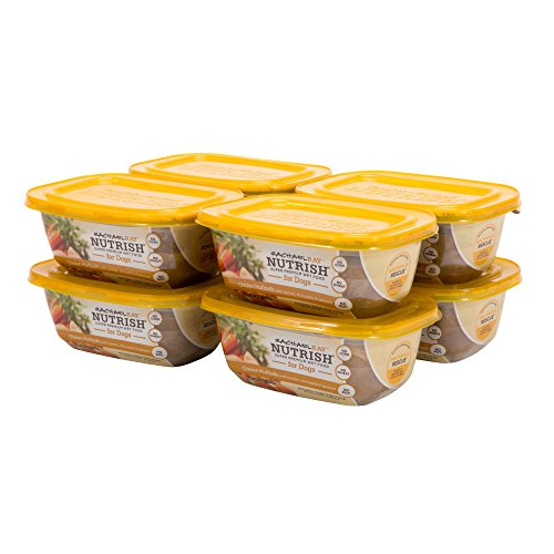 Rachael Ray Nutrish Natural Wet Dog Food, Chicken Muttballs with Pasta, 8 oz tub, Pack of 8