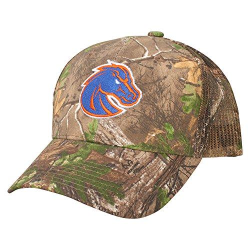 A Boise State Broncos Dynasty Adjustable Hat, Adjustable, Realtree AP ()