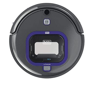 BLACK+DECKER HRV425BLP SMARTECH Lithium Robotic Pet Vacuum