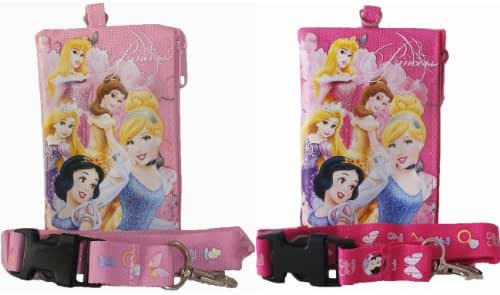 Disney Princess Lanyards with Detachable Coin Purse (2 ct)