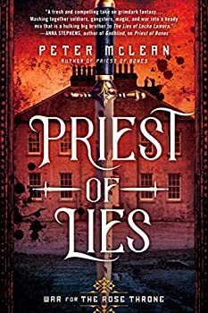 Priest of Lies by Peter McLean science fiction and fantasy book and audiobook reviews