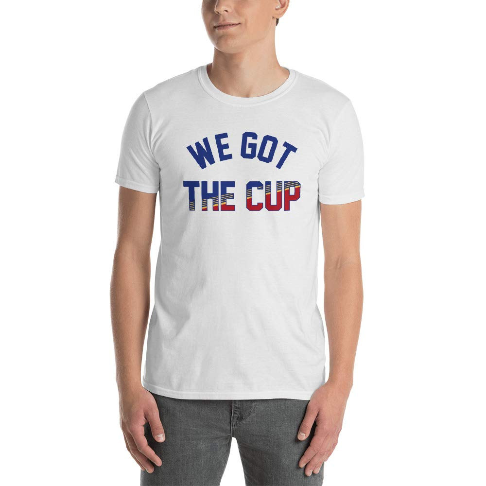 Chloe Miller 91 We Got The Cup Blues T Shirt For St Louis Fans