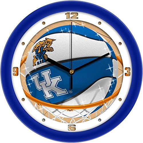 - SunTime Kentucky Wildcats - Slam Dunk Wall Clock
