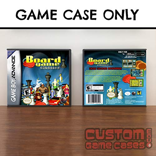 Gameboy Advance Board Game Classics: Chess/Draughts/Backgammon - Case ()