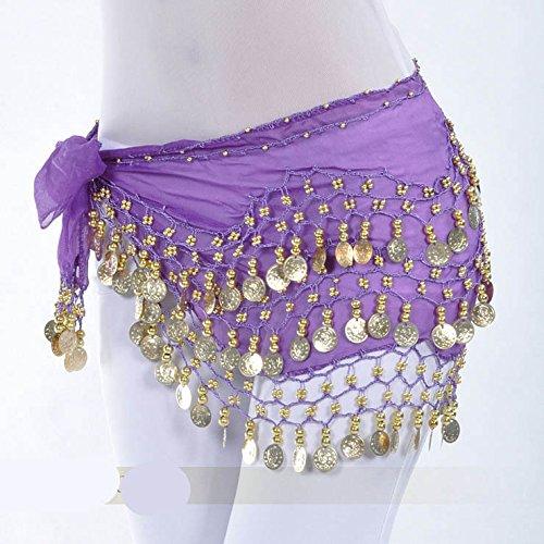 d'or Dance 128 Belly Style Hip Style nbsp;pièces Idée 7 Écharpe Vogue Cadeau qag5wFgt