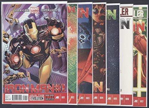 Iron Man #1-28 + Annual Full Set Complete Run Near Mint Marvel Comics 2013 CBX8A