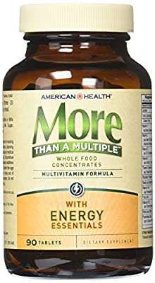 American Health More than a Multiple with Energy Essentials Tablets, 90 Count