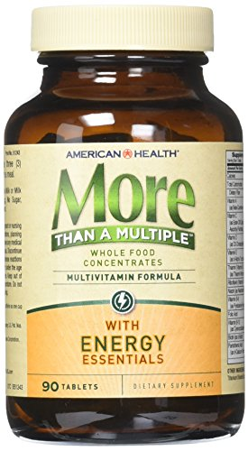 American Health More Than a Multiple with Energy Essentials Tablets, 90 Count ()