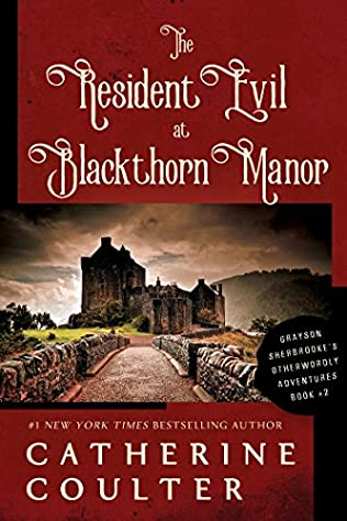 book cover of The Resident Evil at Blackthorn Manor