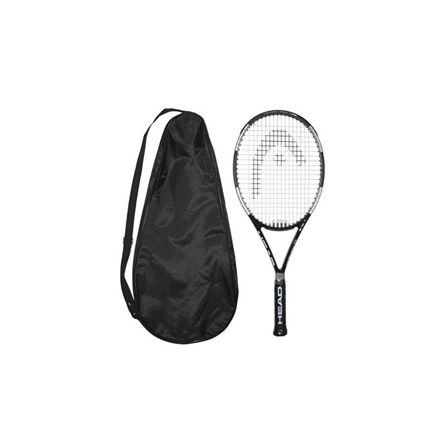Head LiquidMetal 8 Tennis Racquet STRUNG with COVER