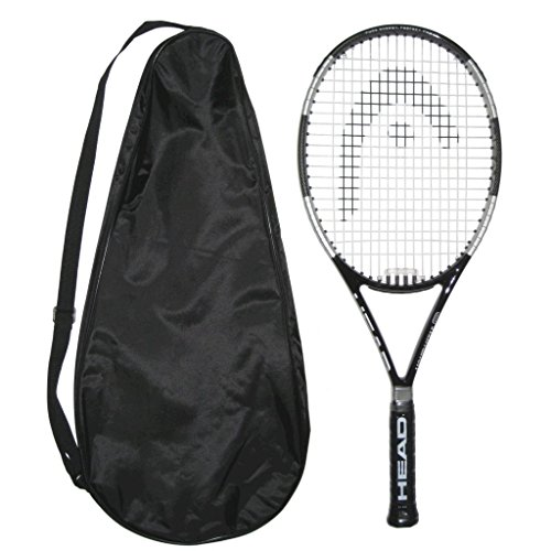 Head LiquidMetal 8 Tennis Racquet STRUNG with COVER (4-1/2)