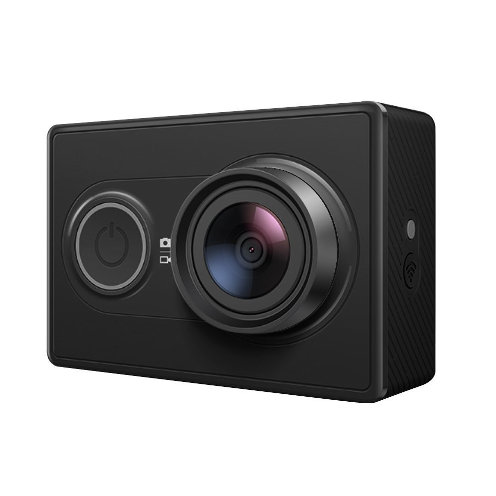 YI 1080P Action Camera, 16MP HD Wide-Angle Sport Cam with Waterproof Case - Black