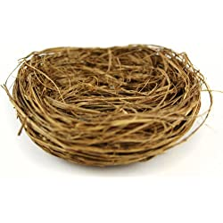 Creative Hobbies Natural Twig Birds Nests 3 inch wide -Great for Wedding Favors, Party Favors, Florals or Baby Showers, Package of 24