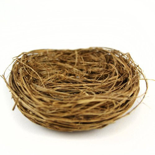 Creative Hobbies Natural Twig Birds Nests 4 inch -Great for Wedding Favors, Party Favors, Florals or Baby Showers, Package of 12