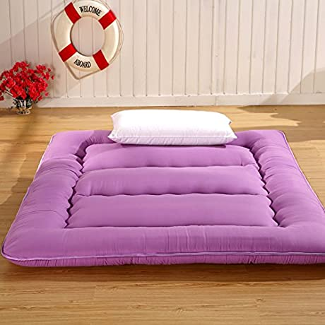 Bedroom Mattress Tatami Mat Bed Pad Grinding Fabric Fold Able Anti Skidding 12Cm Thick Individual Double For Livingroom Student Dormitory Tents E 180x200cm 71x79inch