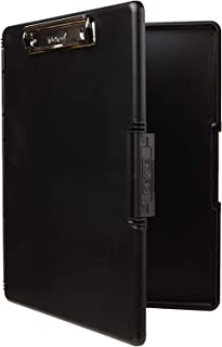 product image for Dexas 3517-91 Slimcase 2 Storage Clipboard with Side Opening, Black