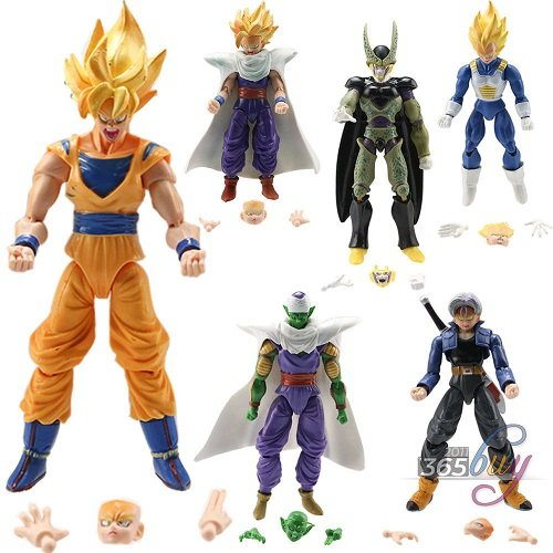 Lot-6-pcs-Dragonball-Z-Dragon-ball-DBZ-Goku-Piccolo-Action-Figure-Toy-Set-Anime