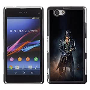 CASEMAX Slim Hard Case Cover Armor Shell FOR Xperia Z1 Compact D5503- MALE PIRATE ASSASSINS