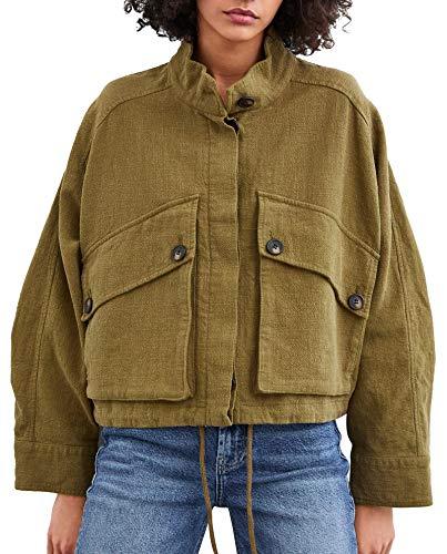 Mujer Jacket 3427 002 Rustic Tqrhds Zara KTFl1J3uc