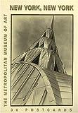 New York, New York Postcard Book, Metropolitan Museum of Art Staff, 0821224883