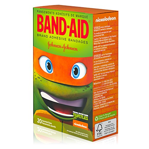 Band-Aid-Brand-Adhesive-Bandages-Nickelodeon-Teenage-Mutant-Ninja-Turtles-Assorted-Sizes-20-ct