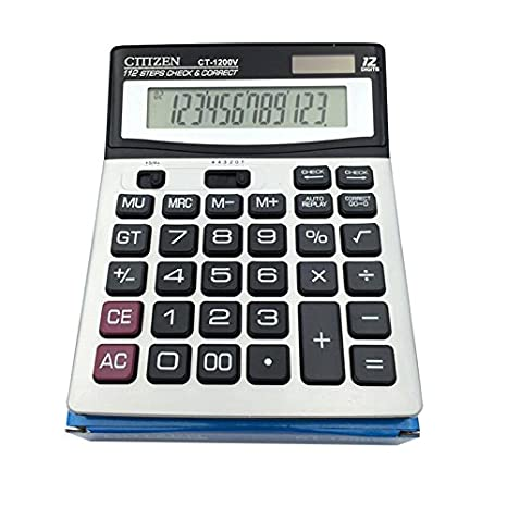 Big Number Buttons 12 Digits Dual Power Large LED Display Basic Standard Office Desktop Calculators e-cholife