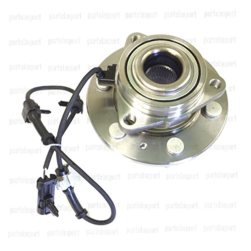 Front Wheel Hub & Bearing Assembly with ABS for Chevy GMC 4X4 4WD AWD Brand New Gmc Yukon Denali Front Wheel