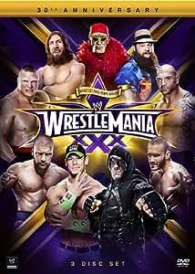 WWE: WrestleMania XXX (Amazon Exclusive with Chrome Trading Card + WWE Book)