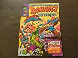 #9: Rampage #5 Bronze Age British Version Marvel Comics The Defenders
