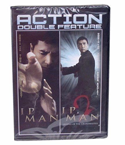 Ip Man and Ip Man 2 Legend of the Grandmaster Double Feature - Both Movies in One Package
