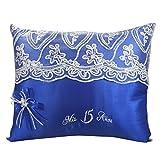 Select Quinceanera Photo Album Guest Book Kneeling Tiara Pillows Bible Q3164 (Tiara Pillow)